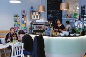"""Zur Tonne"" trifft: ""Café Gemüsetorte"""